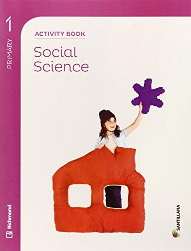SOCIAL SCIENCE 1 PRIMARY ACTIVITY BOOK - 9788468028606 por Aa.Vv.