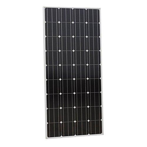 ECO-WORTHY 150W 12v Monokristallin Solarpanel Solarmodul Ideal FÜR Berechnen 12 Volt Batterie Systeme Bausatz , Camping, Wohnmobil,Wohnmobile, Boote ,Gartenhäuser -