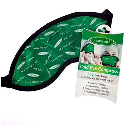 2f45311c99 Cold Compress Eye Mask - The Ice Doctor Reusable Cold Eye Compress