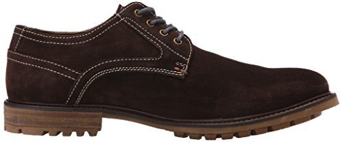 Hush Puppies Mens Rohan Rigby Oxford Dark Brown