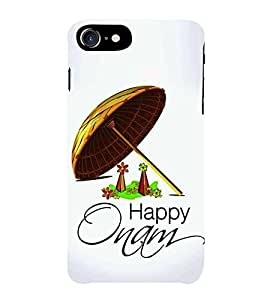 HiFi Designer Phone Back Case Cover Apple iPhone 7 :: Apple iPhone7 ( Happy Onam Kerala )