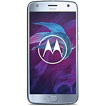 "Motorola Moto X 4 Hybrid Dual SIM 4G 32GB Blue - smartphones (13.2 cm (5.2""), 32 GB, 16 MP, Android, 7.1.1 Nougat, Blue) [versione Germania]"