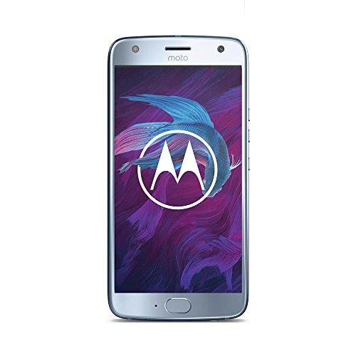 Motorola Moto X4 Smartphone 13,02 cm (5,2 Zoll) (16MP Kamera, 3GB RAM/32GB, Android) Sterling Blau/Nimbus