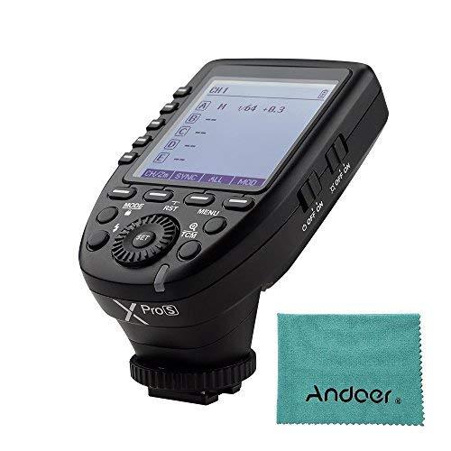 Godox Xpros TTL Wireless Blitzauslöser Sender für Sony A7 II A77 A99 ILCE-6000L A9 A7R A7RII A350 DSC-RX10 Unterstützung TTL Autoflash...