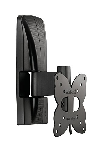Meliconi SLIMSTYLE 100 ST TV Wandhalterung, 63,5 cm (25 Zoll) Black