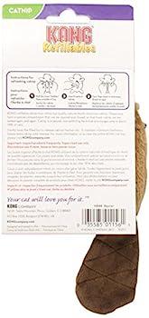 Kong Rechargeables Beaver Jouet à Herbe à chat, 16,5 x 3,8 x 4,4 cm