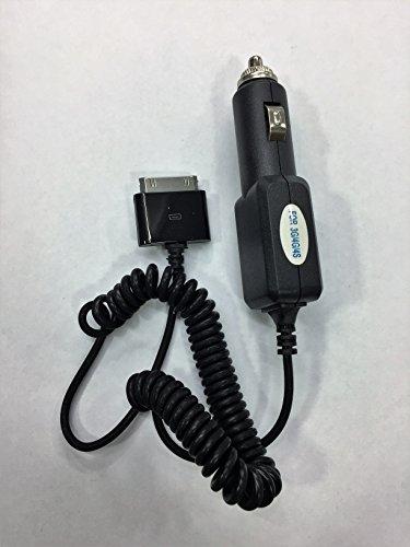 Peach TM: caricabatteria da auto per Apple iPhone 4S/4/3G/3GS/iPod Touch per ricarica rapida-nero
