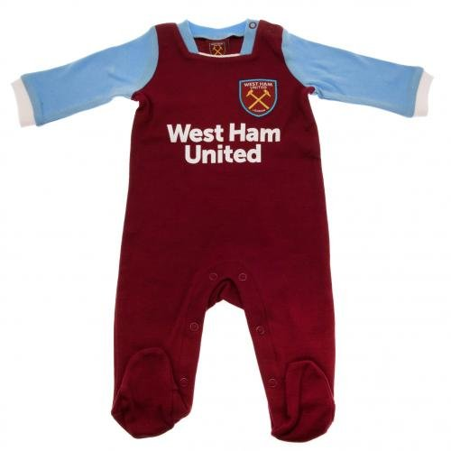west-ham-united-baby-sleepsuit-2016-17-season-9-12-months