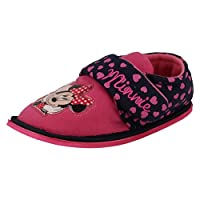 Disney Girls Slippers Minnie Mouse Boarder