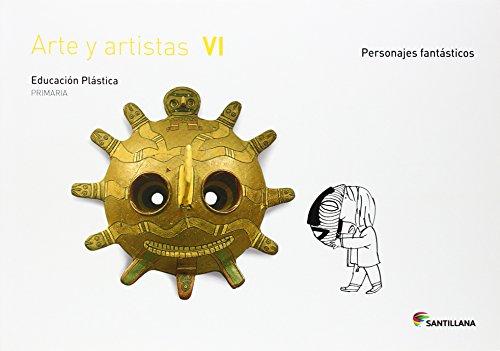 CUADERNO ARTE Y ARTISTICAS VI  6 PRIMARIA - 9788468018294 por Aa.Vv.