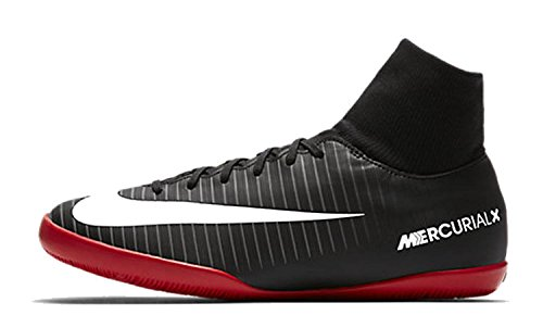 Nike Jr Mercurialx Victory 6DF IC black/white-Dark Grey di Universi Multicolore