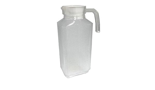 Kühlschrankkrug : Glas kühlschrankkrug 1 95l rechteckig mit deckel: amazon.de: küche
