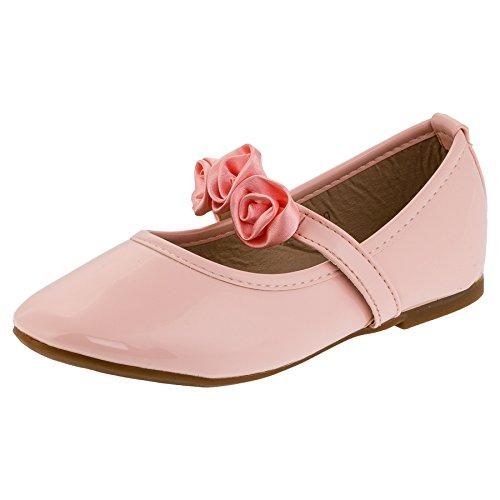 Festlich Schöne Mädchen Schuhe in 3 Farben (26, 147rs Rosa) (Mädchen Schuhe Rosa Kleid)