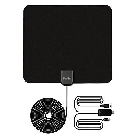 Amplificateur Chambre - Cadrim Antenne TV Amplificateur Signal, Antenne Numérique