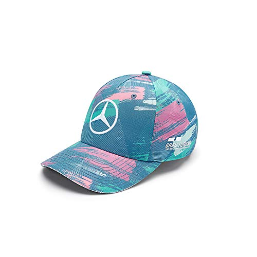 12ea37a14 Mercedes AMG Petronas Lewis Hamilton 'Special Edition' Barcelona Grand Prix  Cap | Adult | 2019