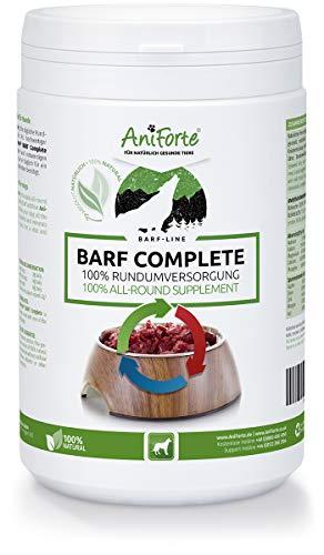 AniForte Barf Complete Pulver 500g für Hunde, 100% Natur Rundumversorgung – Natürlich, Artgerecht und Ausgewogen, Hochwertiger Zusatz beim Barfen, Reich an Mineralstoffen,