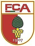 FC Augsburg - Football Club Crest Logo Wall Poster Print -