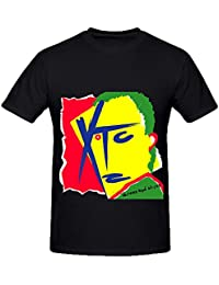 Xtc Drums And Wires Electronica Mens Crew Neck Short Sleeve T Shirts XXXX-L