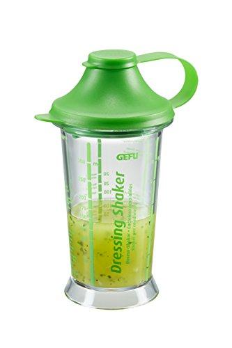 GEFU 89326 - Dressing-Shaker SUN Salat-Dressing-Shaker Messbecher