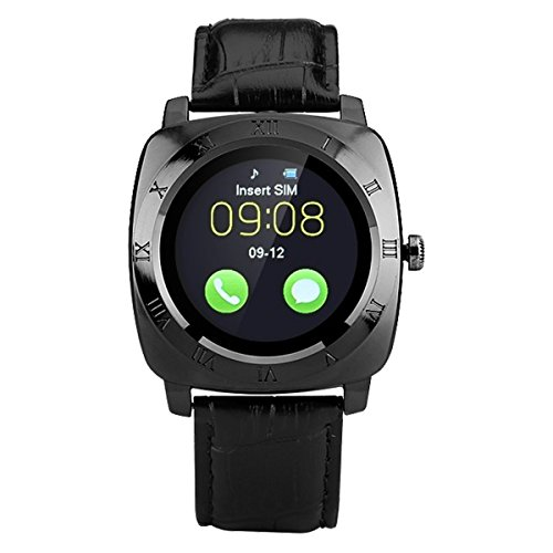 HealthMax HT X3 Black Smartwatch Compatible With Xolo Play 6X-1000 Mobiles
