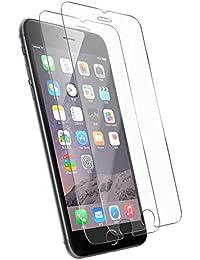 [2-Pack] iPhone 6S 6 protectores de pantalla, Tenmangu vidrio templado Protector de pantalla - transparente (0,33 mm HD Ultra Clear)