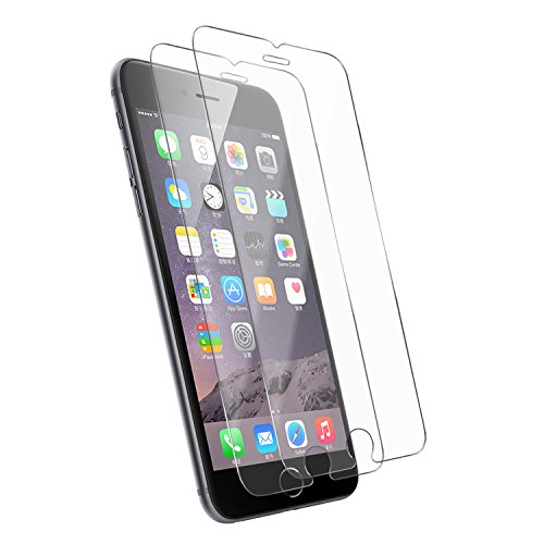 [2-Pack] iPhone 6S Screen Protector,Tenmangu iPhone 6/6S Tempered Glass Screen Protector Film - Transparent (0.33mm HD Ultra Clear)