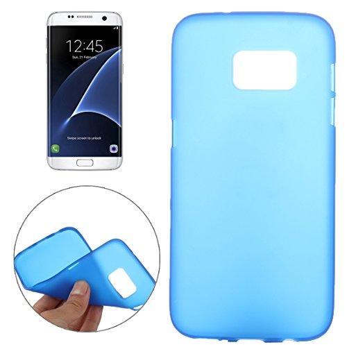Tpu-fall Tab 3 Samsung (Schützen Sie Ihr Mobiltelefon Custer Textur Horizontale Flip Solid Farbe Leder Tasche mit Drei-Falten Halter für Lenovo TAB 2 A10-30 X30F, 10,1 Zoll für Samsung Handy ( Farbe : Blau ))
