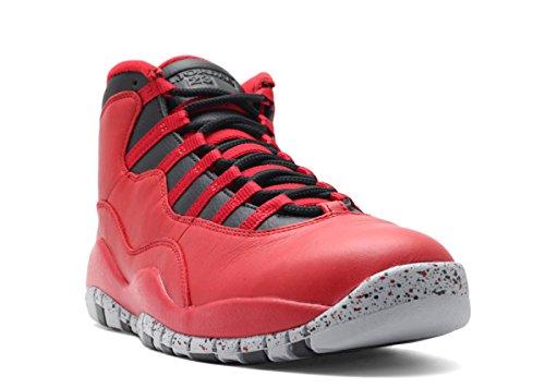 AIR Jordan 10 Retro 30TH 'Bulls Over Broadway' - 705178-601 - Size 45.5-EU
