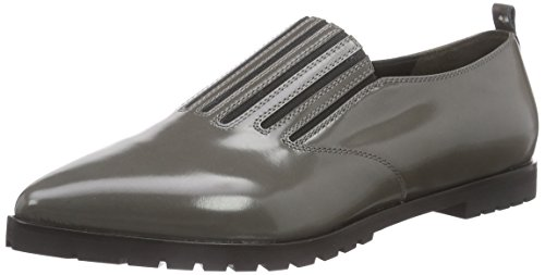 Kennel und Schmenger Schuhmanufaktur Flash Damen Oxford Slipper Grau (Stone)