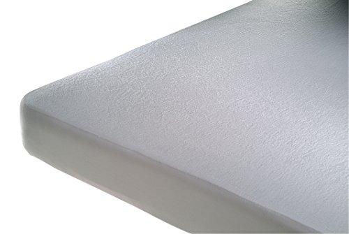 Cándido Penalba 56005 - Protector de colchón de Rizo de bambú Impermeable y Transpirable, 50 x 80 cm