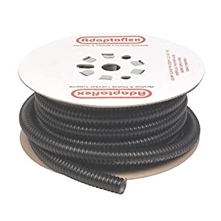 Adaptaflex Liquid Resistant Covered Steel Conduit 25mm x 10m Black