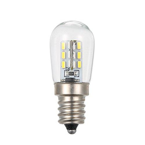 Lixada AC110V / 220V LED Mini Kühlschrank Licht Kühlschrank Lampe E12 Glühbirne Socket Halter SMD3014