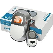 VI.TEL. E0551 12 - Mirilla digital Wi-Fi, plateada