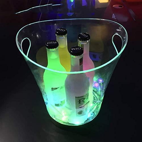 ür Wein und Getränke, Retro, für Champagner, Weine, Getränke, Bier, Eimer für Partys, Zuhause, Bar etc,Green ()