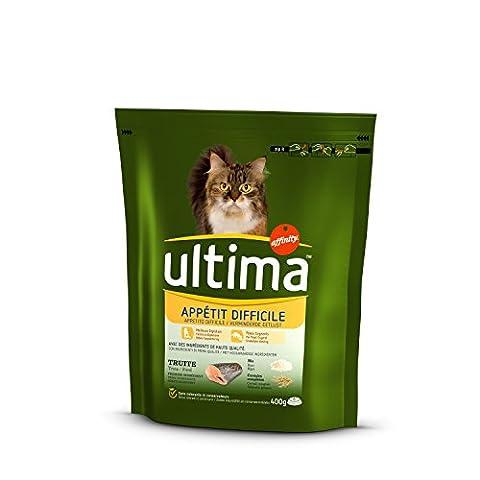 ULTIMA Croquettes Spécial appétits difficiles - Pour chat - (x8)