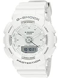 Casio G-Shock S-Series Analog-Digital White Dial Women's Watch - GMA-S130-7ADR (G805)