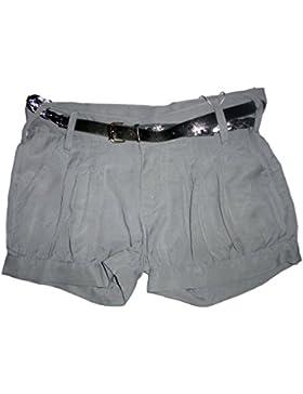 losan - pantalón corto - niña gris