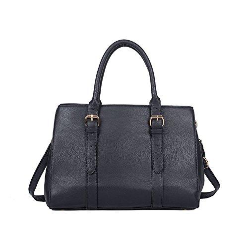 Premium Leather, Borsa tote donna Black