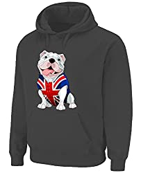 British Bulldog Hoodie (Choices of Colour) by Tribal T-Shirts