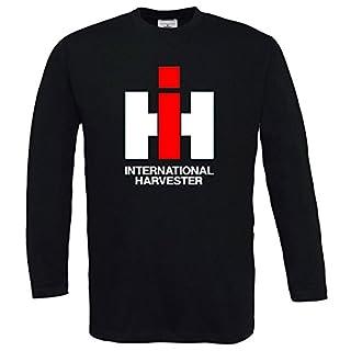 Bimaxx IHC | Langarm T-Shirt | Schwarz | Größe S
