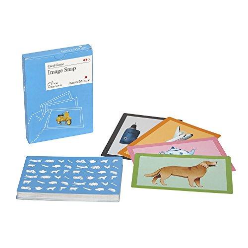 Active Minds Bilder Schnipp-Schnapp: Kartenspiel zur Aktivierung von Senioren / Menschen mit Demenz/Alzheimer (Sehbehinderte Spielen Karten)