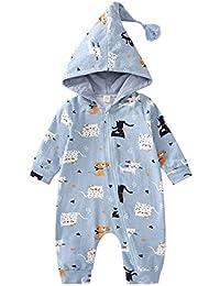 Qiusa Ropa Unisex para bebés recién Nacidos c3d3ec79947