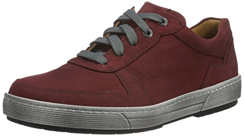 Ganter Damen Helena, Weite H Sneakers Rot (rubin 4300)