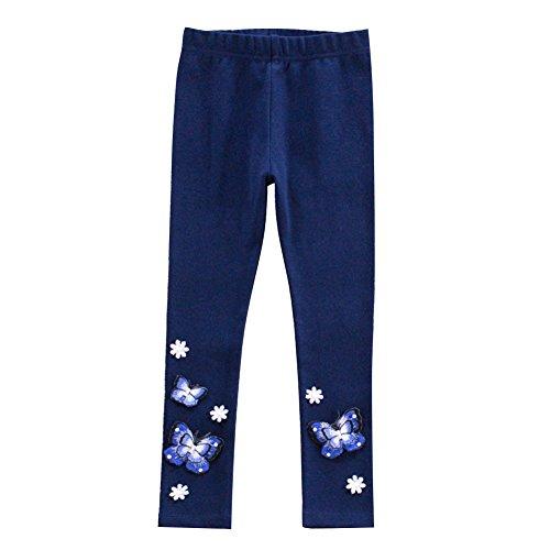 LSERVER-Handgemachte PerleLeggins Girl Neun Hose Baby Mädchen Leggins Kinder Baumwolle Mode Legging
