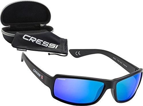Cressi Ninja - Gafas unisex, color negro, talla única