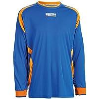 495e97ee2be Derbystar, Maglia da Portiere Bambino Aponi, Blu (Blau/Orange), 128