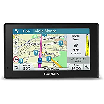 Garmin DriveSmart 50 CE LMT-D - Navegador GPS con mapas de por Vida y tráfico Digital (Pantalla de 5