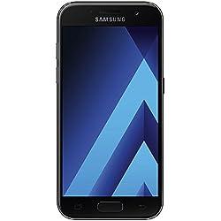 Samsung SM-A320FZKNDBT Galaxy A3 (2017) Smartphone - Écran Tactile 12,04 cm [4,7-Pouces] Mémoire 16 Go Android 6.0 - Noir [Import Allemagne]