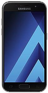 Samsung Galaxy A3 (2017) Smartphone - Écran tactile 12,04 cm [4,7-pouces] Mémoire 16 Go Android 6.0 - Noir