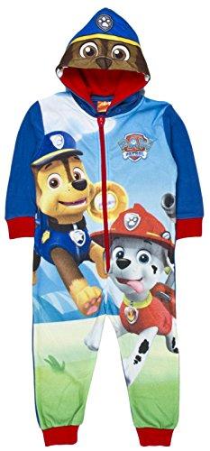 paw-patrol-fleece-onesie-reversible-hood-pyjamas-all-in-one-pjs-boys-chase-marshall-size-uk-2-5-year